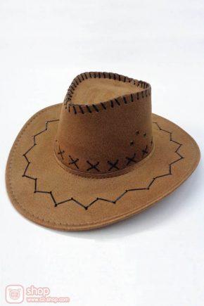 หมวกคาวเกิร์ล-หมวกคาวบอยสีน้ำตาลอ่อน
