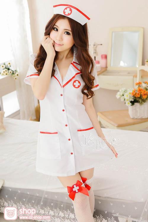 ชุดพยาบาลสาวเซ็กซี่สุดน่ารัก