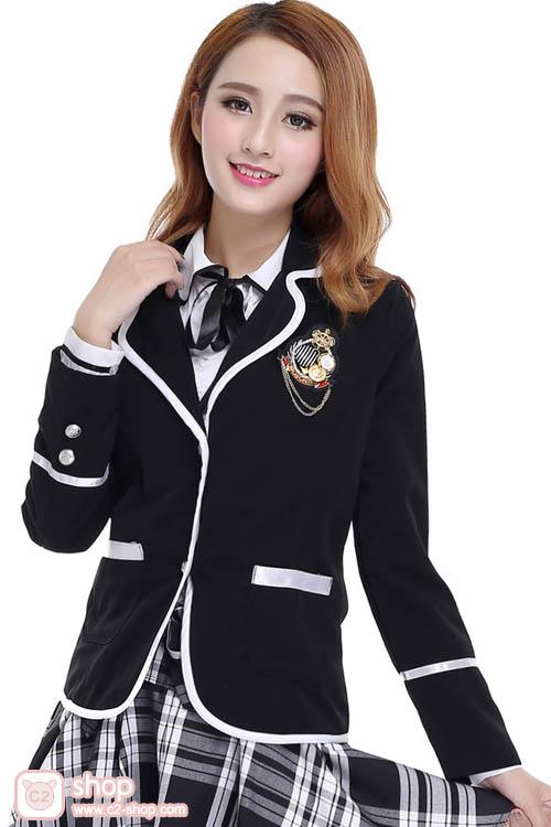 เข็มกลัดติดเสื้อตราสัญลักษณ์โรงเรียนเกาหลี