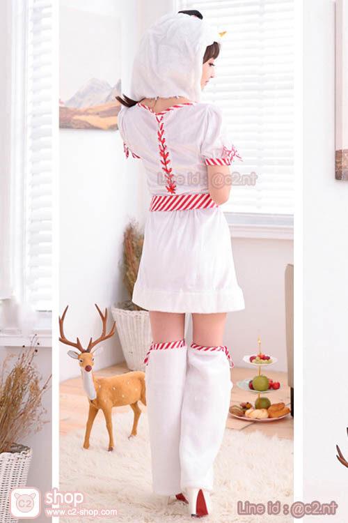 ชุดตุ๊กตาหิมะสาวแสนน่ารักพร็อบจัดเต็ม